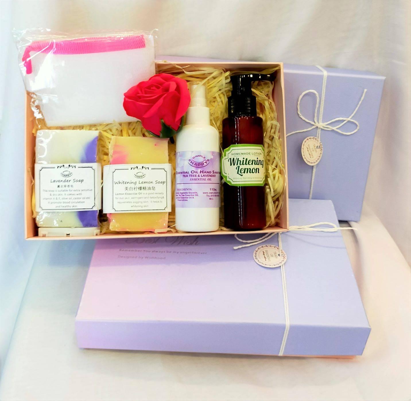 Premium soap & skin care set- Free led & box