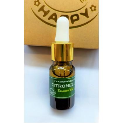 Citronella Essential Oil (Mosquito Repellent) 10ml