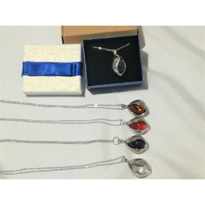 Necklace Diffuser - Tear Drop(free jewellery box)