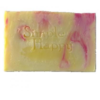 Essential Oil Soap Set with golden gift box-free soap bubble net & handphone screen sanitiser