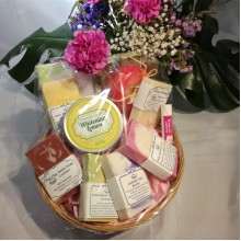 Mothers' Day Special Handmade Soap & Lotion Basket