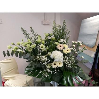 Condolences Flower Basket