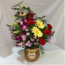 Fresh Flower Bag/basket