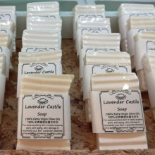Eczema & Sensitive Skin Soap - Lavender Castile (stock clearing)
