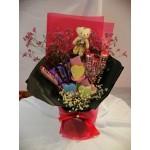 Valentines' Day Chocolate Flower Bouquet