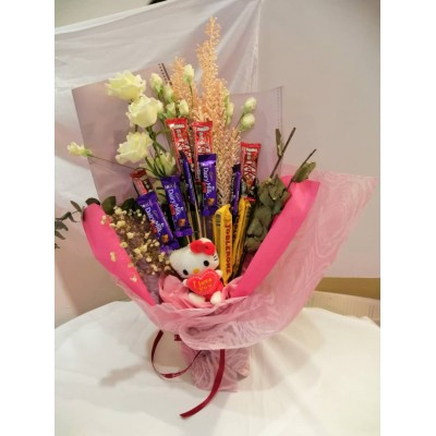Valentines' Day Chocolate Flower Bouquet