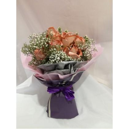 Cash flower bouquet