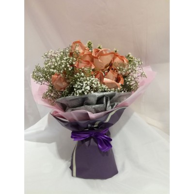 Cash flower bouquet