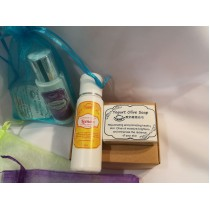 Gift / Travel Pack (Yogurt Olive Handmade Soap+Lotion)