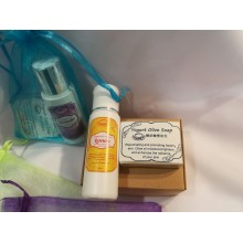 Gift / Travel Pack (Yogurt Olive Handmade Soap+Lotion)