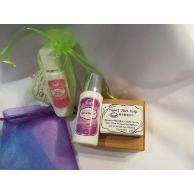 Gift Pack (Yogurt Olive Handmade Soap+Lotion)
