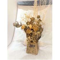 Dry Roses+Eucalyptus for room deco & aroma