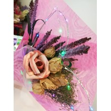 Single Cash Rose with LED lights