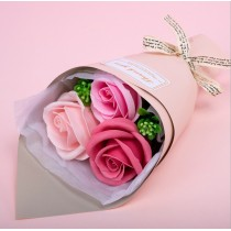 Soap flower- 3 pieces Gift Box