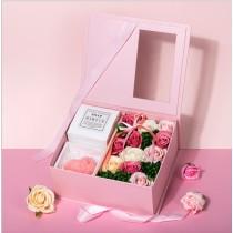Premium Soap Flower Box
