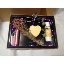 Skin Care Gift Box with LED lights (Free box)
