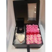 Christmas Premium Soap Flower Box Set