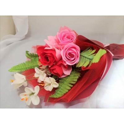 Valentines' Day Soap Flower Mini Bouquet