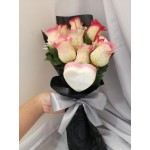Valentines' Day Soap Flower Mini Bouquet