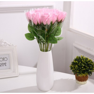 Rose Soap Flower each order comes with 2 stems