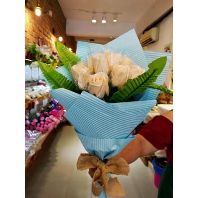 Rose Soap Flower Bouquet