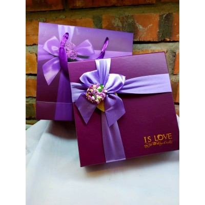 Fancy Handmade Soap Gift Box Set (different design and different aroma)