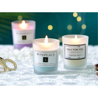 Essential Oil Candles for Aromatherapy- made by Soy wax 50g