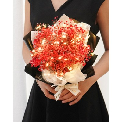 Birthday Bouquet-Million Star with LED lights and in a carry bag Free Handmade Soap