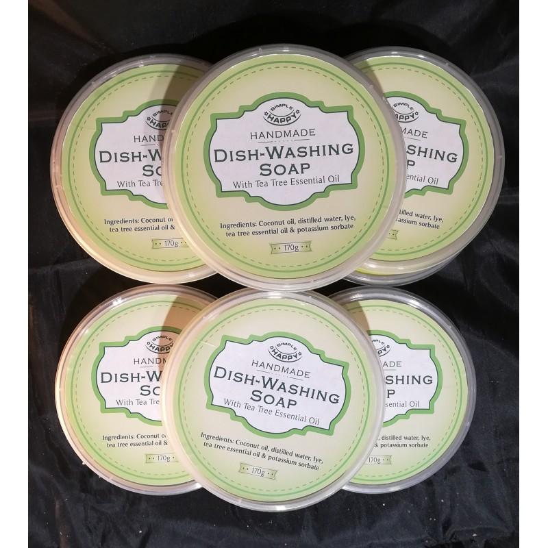 Organic dish washing soap